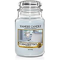 Yankee Candle Candela Grande Vaso, Un Posto Calmo e Tranquillo