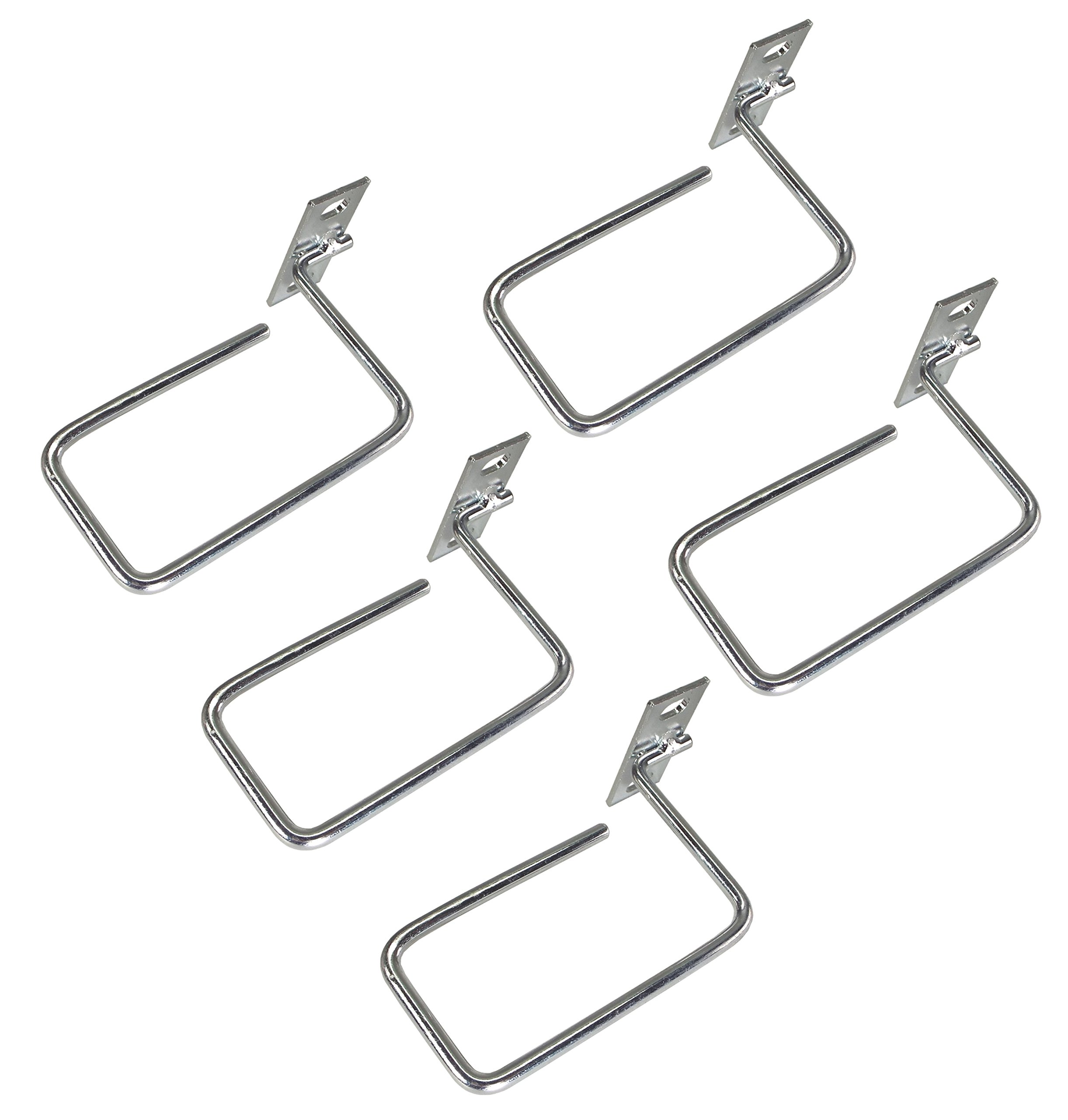 CNAweb 1U Vertical Server Rack Cable Management Minder D-Ring Hook Cable Organizer - Pack of 5 by CNAWEB