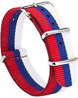 Gemony Nato Strap Premium Ballistic Nylon Watch Band per Diver Orologi DW, Larghezza di banda 20 millimetri G10
