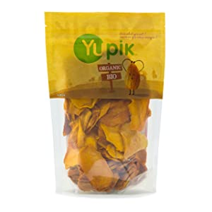 Yupik Organic Dried Sliced Mango, 1 Lb