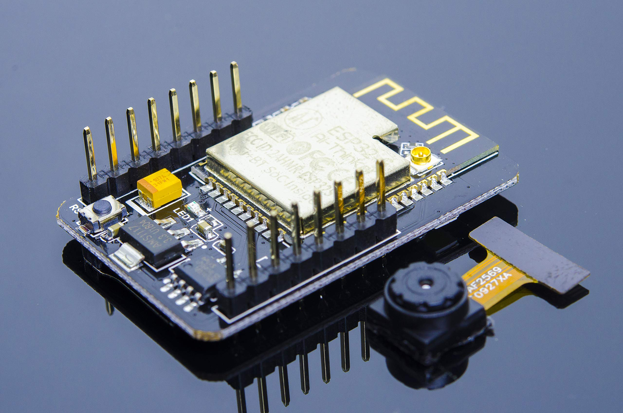 Placa De Desarrollo Acrobotic Esp32-cam Con Modulo De Camara Ov2640 2mp Y Tarjeta Sd Para Arduino Esp8266 Raspberry Pi E