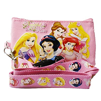 Disney Princess and Tangle Lanyard with Coin Purse 'Beautiful as a Rose: Toys & Games