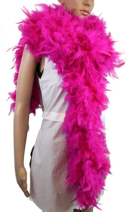 Hot Pink 150 Gram Turkey Feather Boas