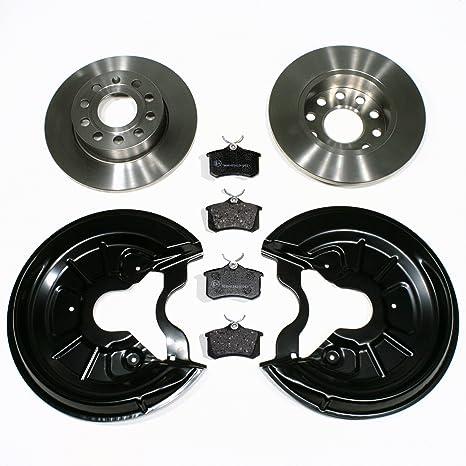Bremsscheiben Pr Nr 1kd Bremsen Bremsbeläge Spritzbleche Für Hinten Für Die Hinterachse Auto