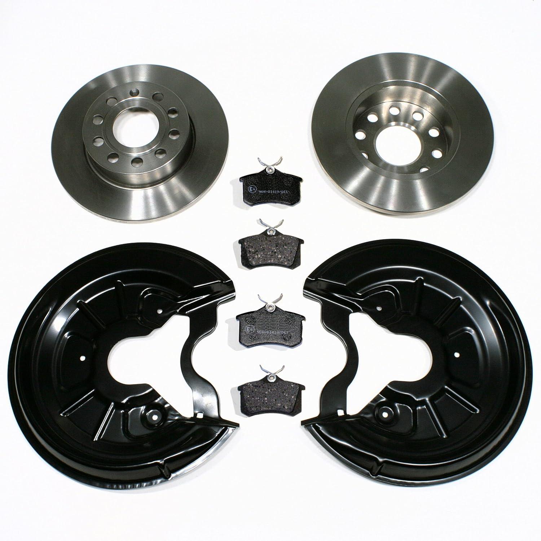 Bremsen hinten AUDI A3 8P 1KD 1KQ 253mm Bremsscheiben Bremsbeläge Hinterachse