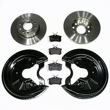 Bremsbel/äge 1KQ Bremskl/ötze//Bremsen f/ür hinten//f/ür die Hinterachse