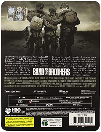 Band of brothers (tin pack) [Italia] [DVD]: Amazon.es: Michael ...