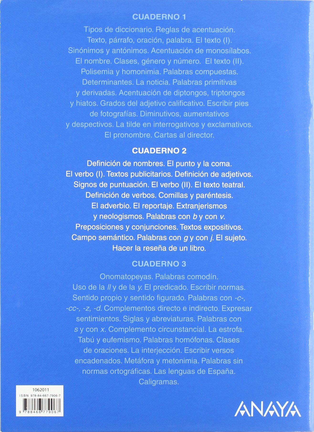 Lengua 6. Cuaderno 2. (Abre la puerta): Amazon.es: María Isabel Fuentes Zaragoza: Libros