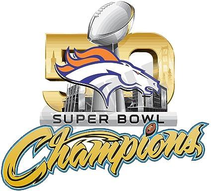 56bfc98c382b Amazon.com   Denver Broncos Super Bowl 50 Decal   Sticker   Everything Else