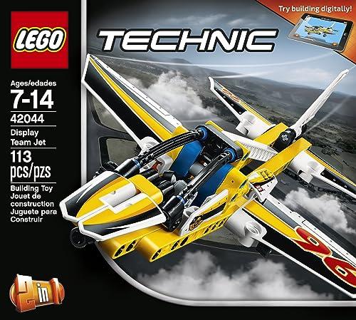 Best Technic LEGO Aircraft - LEGO Technic Display Team Jet 42044 Building Kit