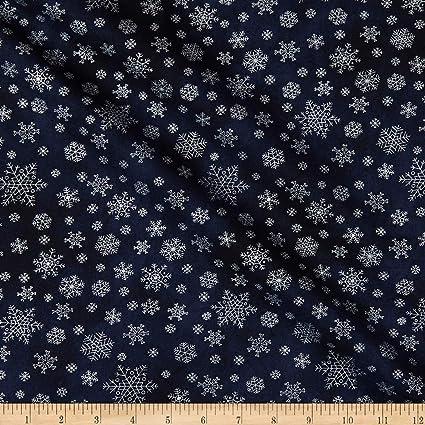 Sparkle Silver Metallic Stars on White Cotton quilt fabric P/&B BTY