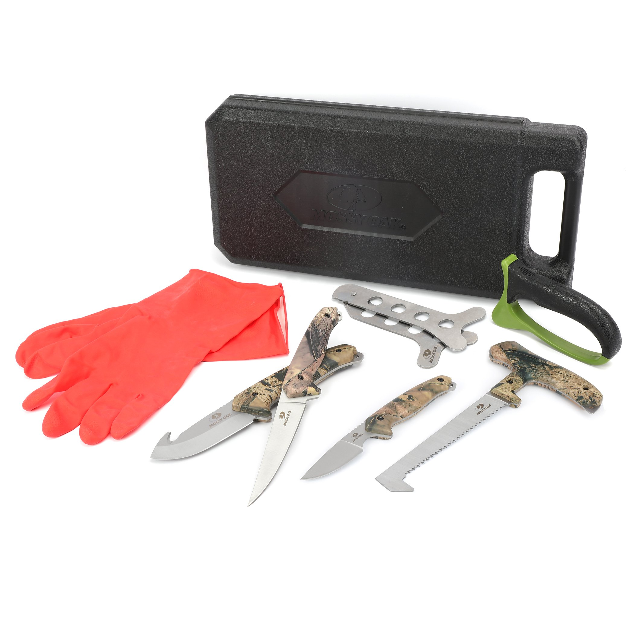MOSSY OAK Field Dressing Kit, Portable Butcher Game Processor Set (8-piece) by Mossy Oak (Image #2)