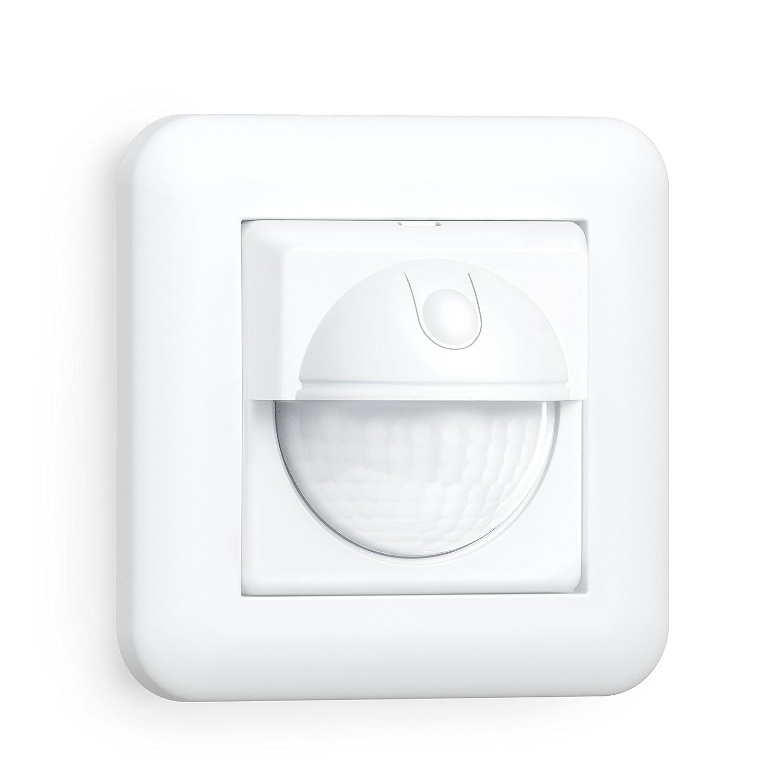 Steinel Bewegungsmelder IR 180 UP easy, Unterputz Wandschalter, 180° Sensorschalter, LED geeignet, 2- und 3-Draht Montage 055790