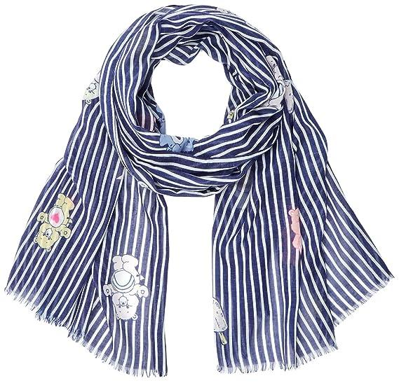 Womens 81023511 Scarf, Blau (Navy Blue 2), One Size Codello