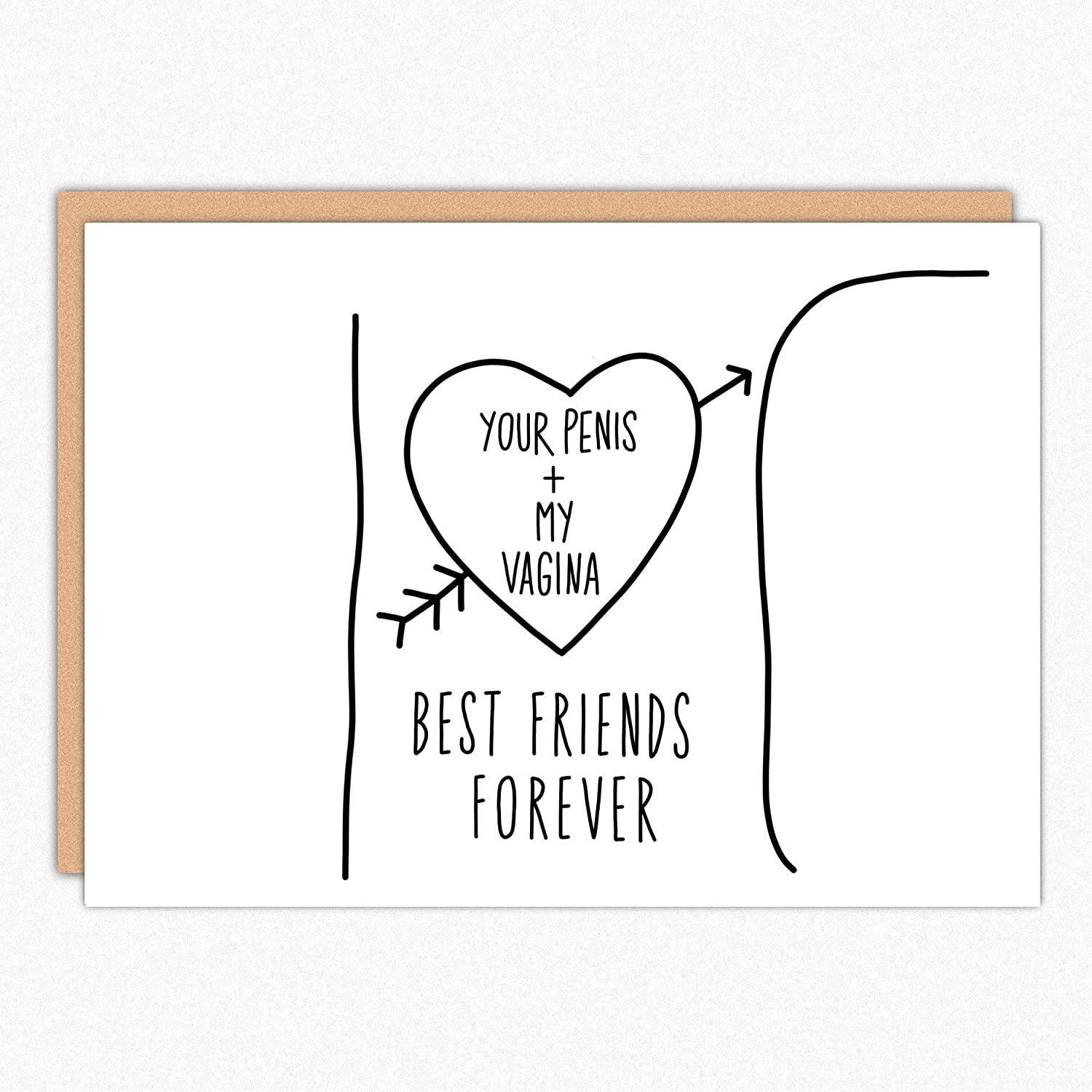 Funny Valentines Day Card For Boyfriend 179 BFF Tree Trunk Gift Birthday Him Anniversary