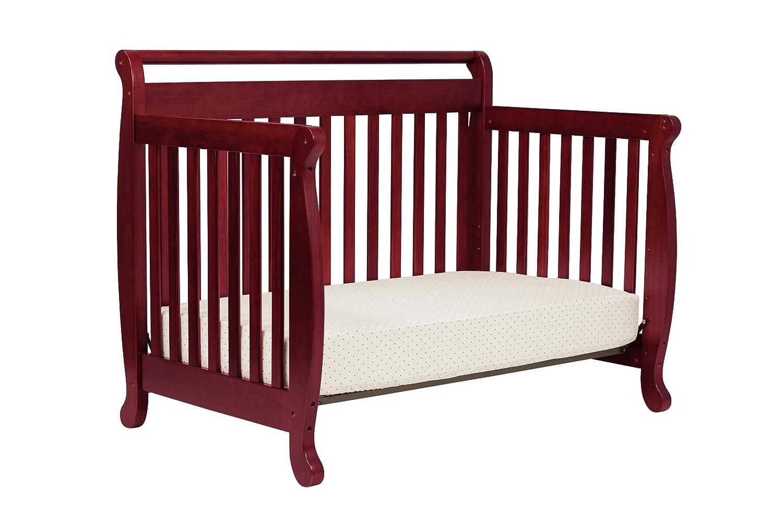 amazoncom davinci emily 4in1 convertible crib in rich cherry baby - Convertible Baby Cribs