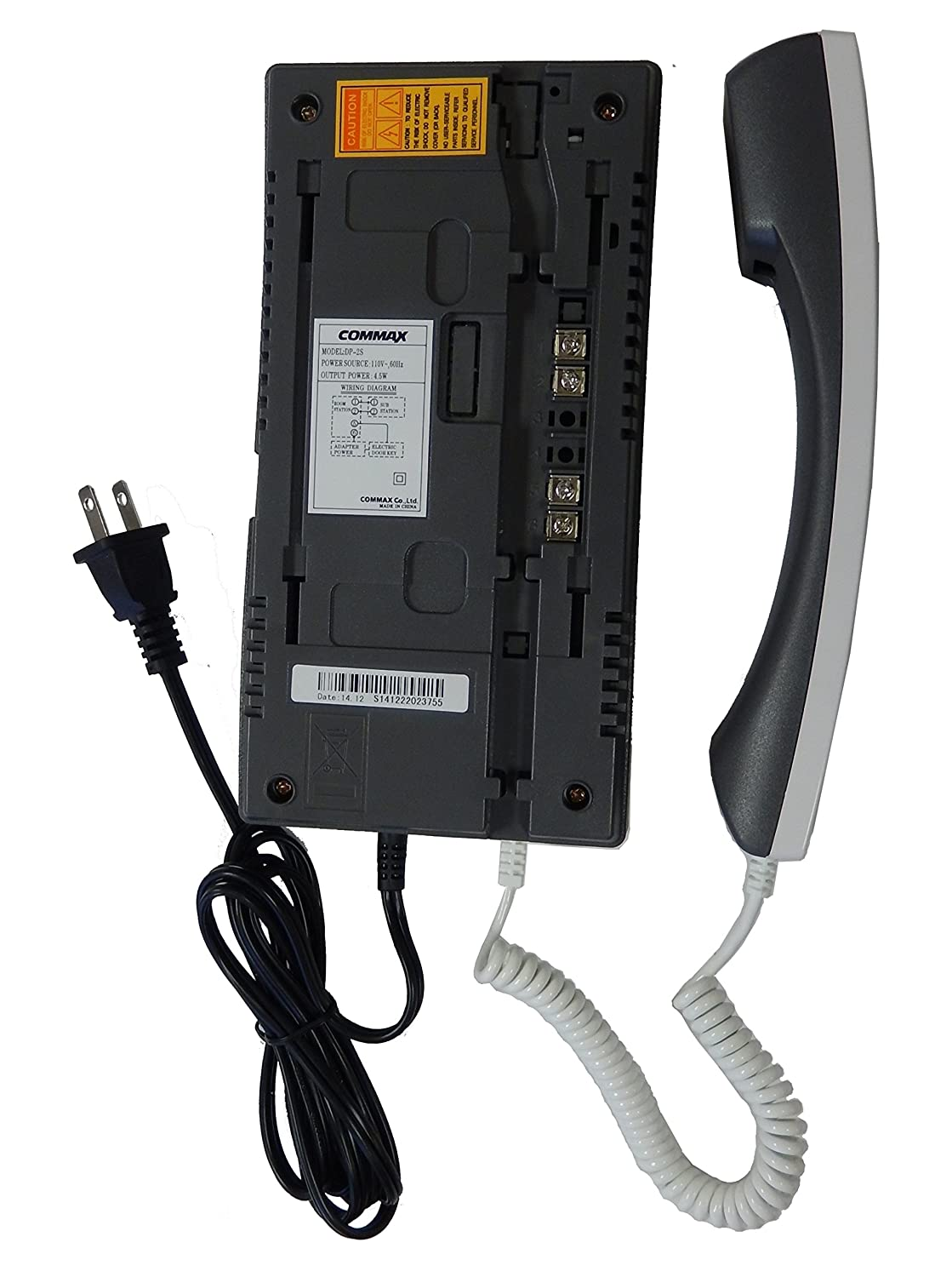 81iAYhN956L._SL1500_ amazon com commax audio door phone and door unit kit dp 2s dr 2k commax dp-201r wiring diagram at n-0.co