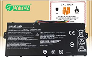 FLYTEN New AC15A3J AC15A8J Battery for Acer Chromebook 11 CB3-131 Series,Chromebook R11 CB5-132T Series,Chromebook C738T Series