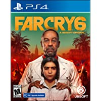 Far Cry 6 PlayStation 4 Standard Edition with Free Upgrade to the Digital PS5 Version