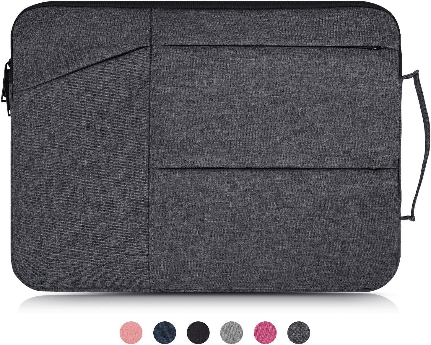 "Dealcase 11.6 Inch Waterproof Laptop Case Compatible Acer chromebook 11.6"",Samsung Chromebook 11.6"",ASUS Chromebook Flip C213SA/ASUS C201 11.6 Inch Chromebook,HP Chromebook 11 Protective Bag,Dark Gray"