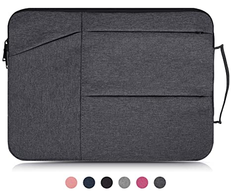 15.6 Inch Waterproof Laptop Briefcase Bag Compatible Acer Chromebook 15,Acer Aspire E 15,Acer Predator Helios 300,MSI GL62M,Dell Inspiron,ASUS ...