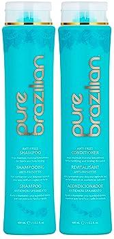 PURE BRAZILIAN Anti Frizz Daily Shampoo