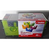"imation 3.5"" Diskettes, Neon, 40PK, 2HD, 1.44MB"