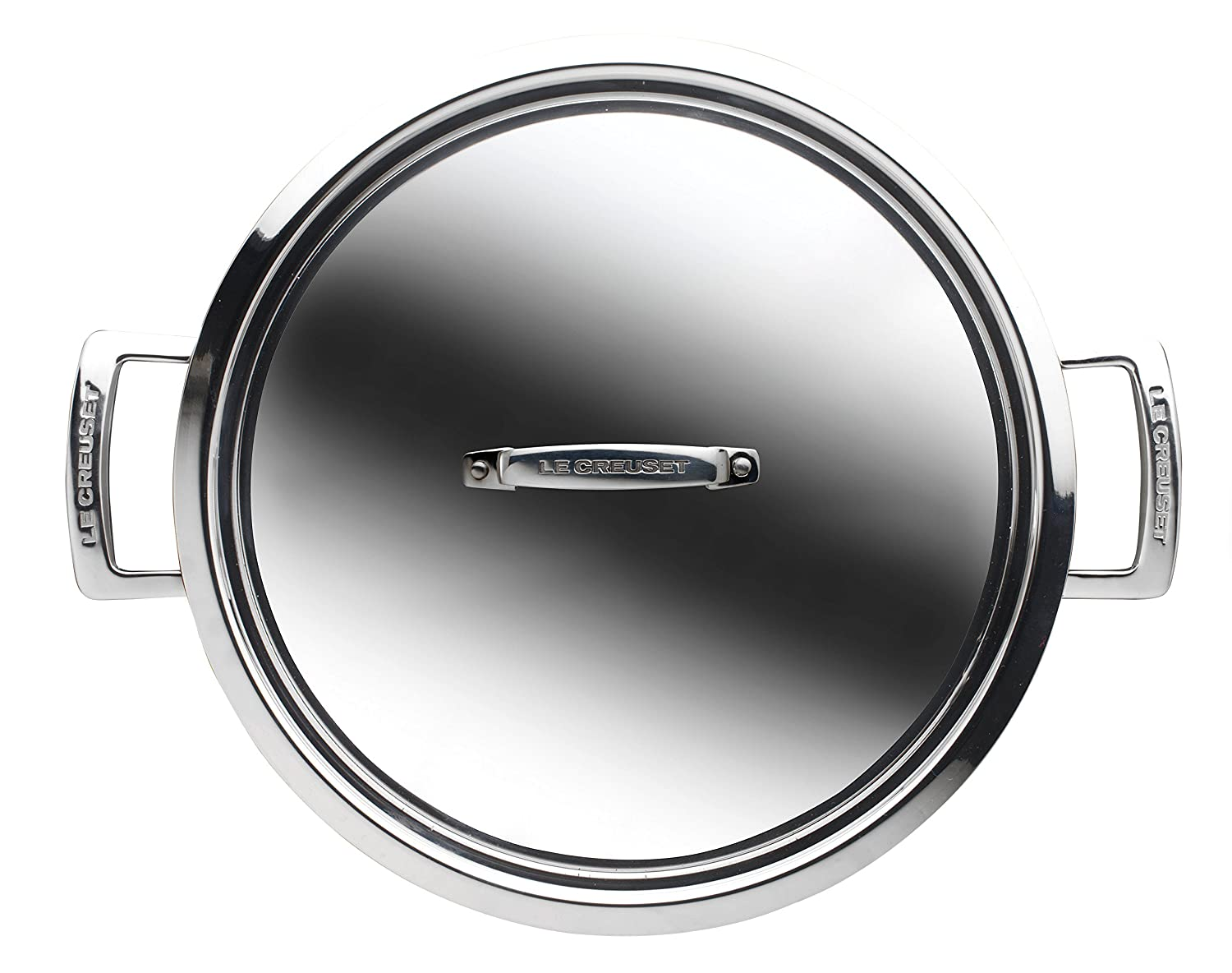 Le Creuset 3-Ply Stainless Steel Shallow Casserole 24 cm