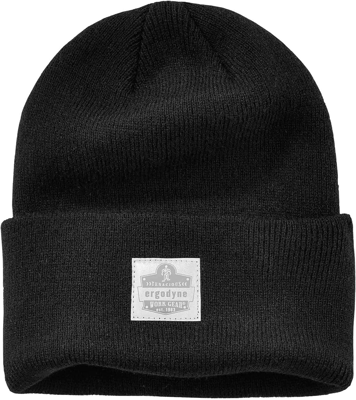 Ergodyne N-Ferno 6806 Cuffed Rib Knit Beanie Hat