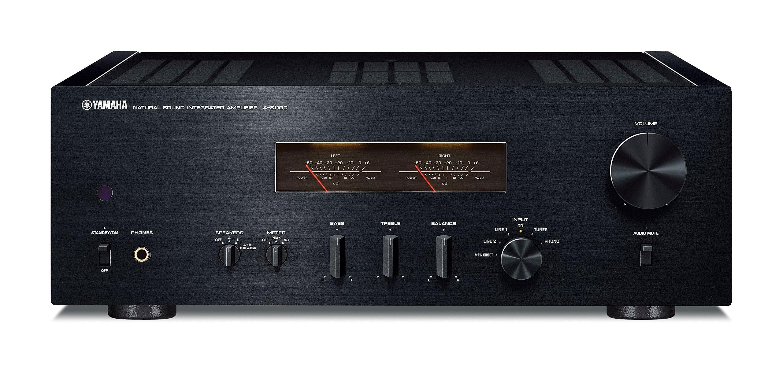 Yamaha A-S1100BL Power Amplifier (Black) by Yamaha
