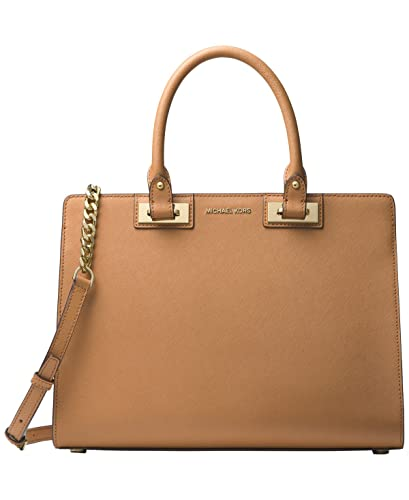 b30ed6c269d32b Amazon.com: MICHAEL Michael Kors Quinn Large Satchel (Acorn): Shoes