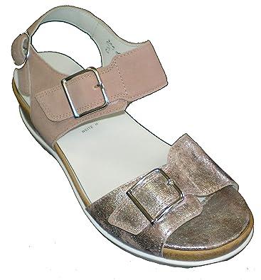 Womens Hilda Ankle Strap Sandals, Grey Waldl?ufer