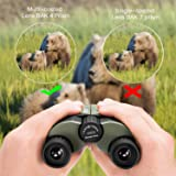 Occer 10x25 Compact Kids Binoculars with Low