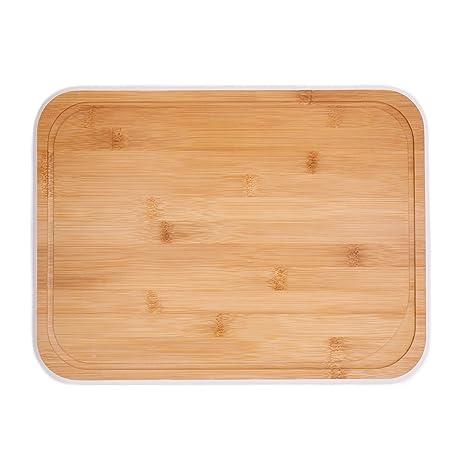 Attirant CASASUNCO Bamboo Cutting Board   Organic Kitchen Board   Chopping Board  With Drip Groove U2013 Light