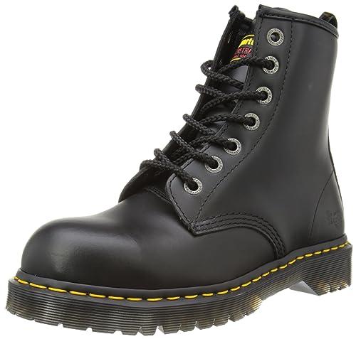 Dr. Martens Original 7B10, Unisex - Erwachsene Stiefel,schwarz - 36 EU