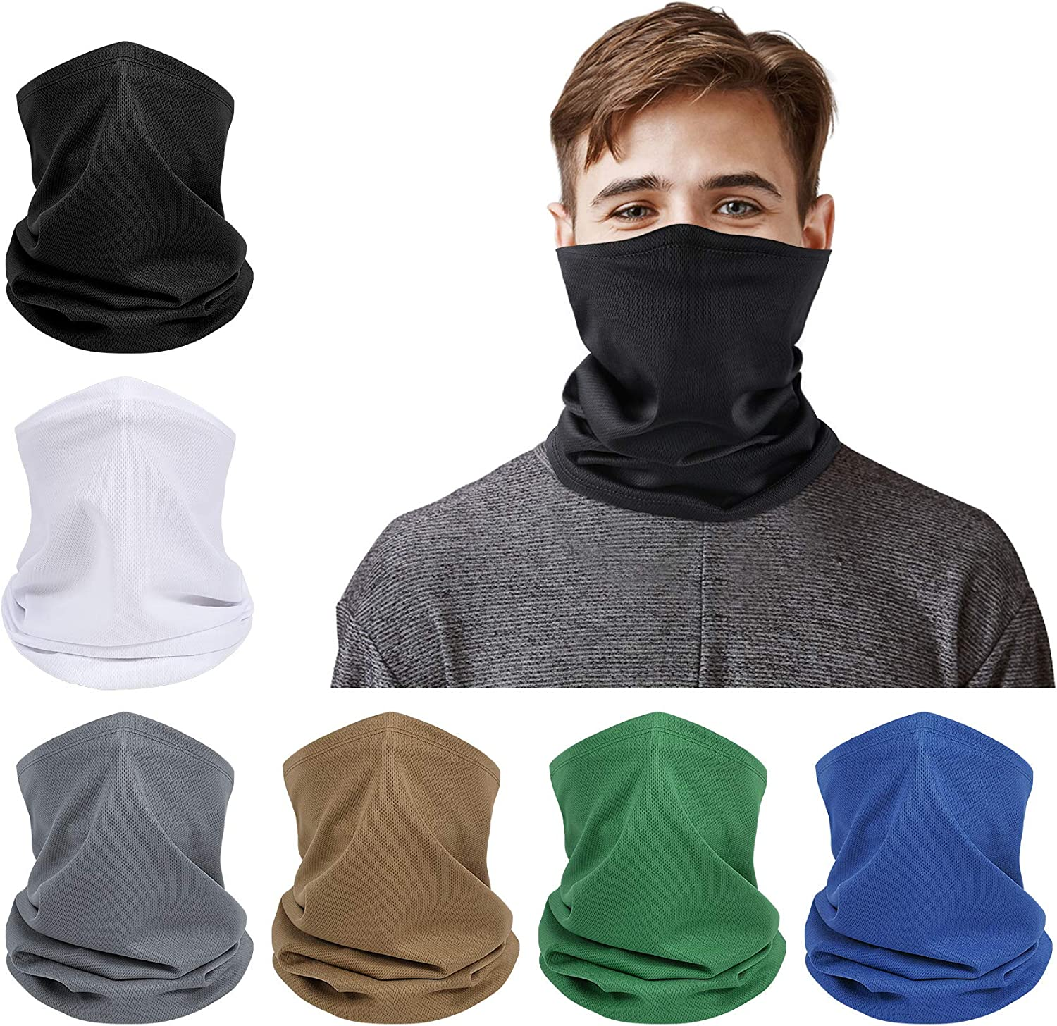 Full Face Mask Scarf Balaclava Motorcycle Cycling Neck Cover Sun UV Protection