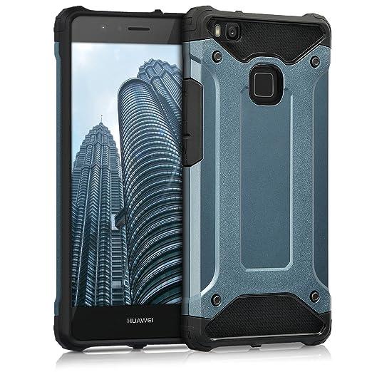 2 opinioni per kwmobile Custodia ibrida per Huawei P9 Lite Design transformer- Cover rigida per