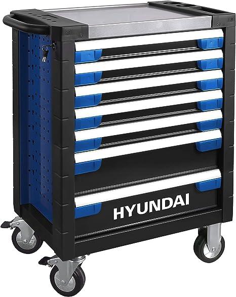 HYUNDAI 59003 - Carro de taller (305 piezas, carro de herramientas ...
