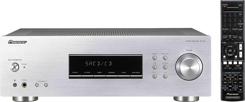 Pioneer SX-20-S Receptor para Equipo de Audio, Plata: Amazon.es ...
