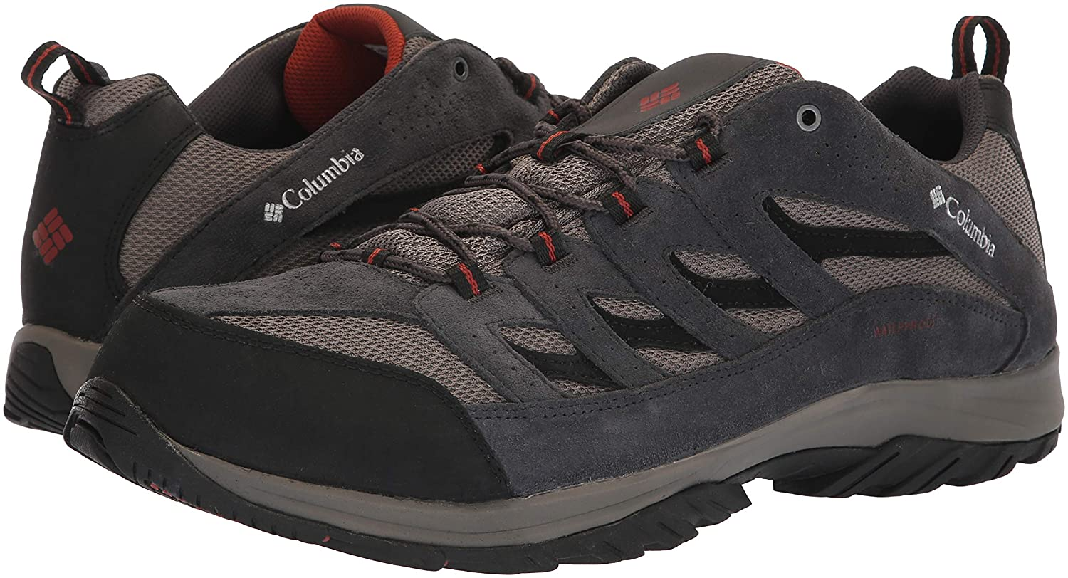 Breathable Columbia Mens Crestwood Waterproof Hiking Boot High-Traction Grip