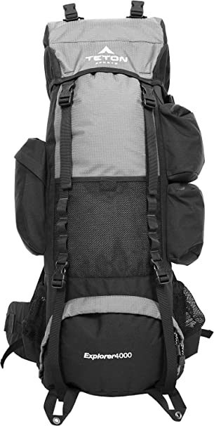 Amazon.com : TETON Sports Explorer 4000 Internal Frame Backpack ...