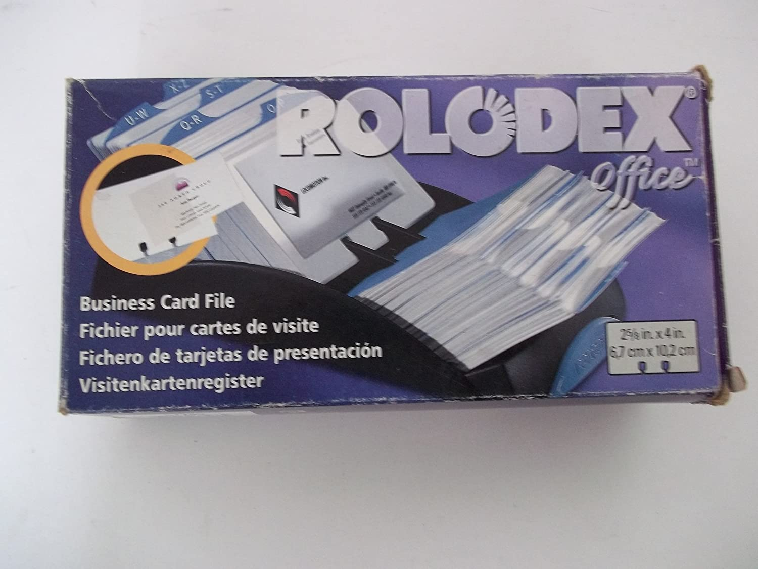 Amazon Com Rolodex Office 67186 2 5 8 X 4 Business
