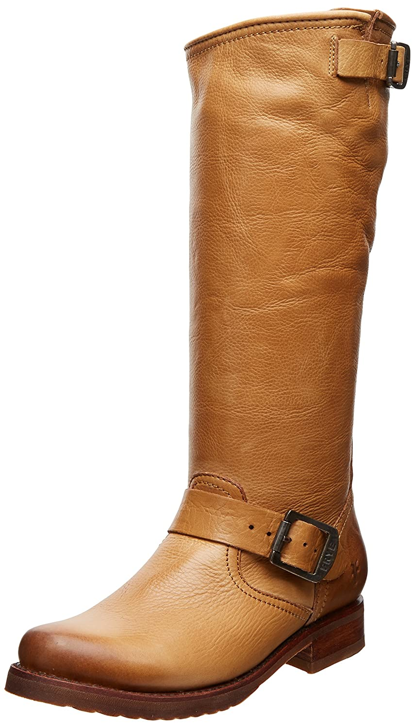 FRYE Women's Veronica Slouch Boot B008BULKE6 6.5 M US|Camel Soft Vintage Leather-76602
