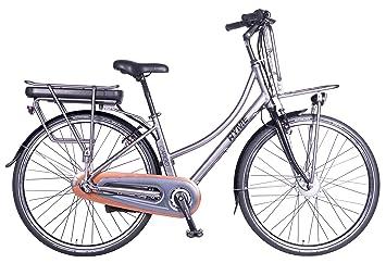 Rymebikes Cargo Bicicleta de Paseo Eléctrica, Unisex Adulto, Gris, 42: Amazon.es: Deportes y aire libre