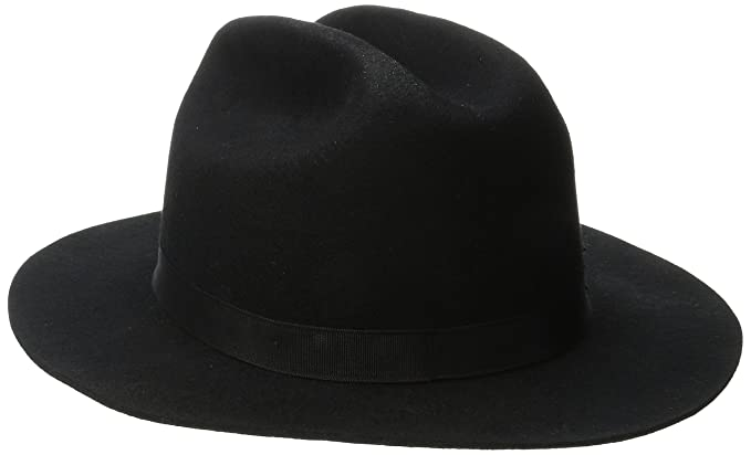 6972d878b8160 ... coupon code for brixton mens coburn fedora hat black small 78376 cf28d