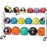 Champion Sports Deluxe Medicine Ball Storage Cart