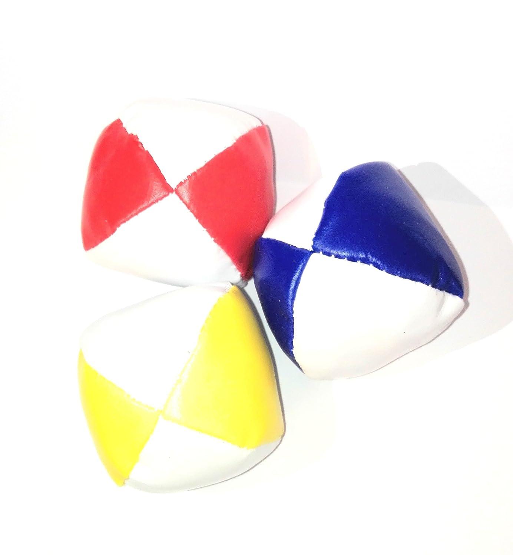 Dino Bigioni Jonglierbälle gelb/ rot/ blau eig_dinoTT60782