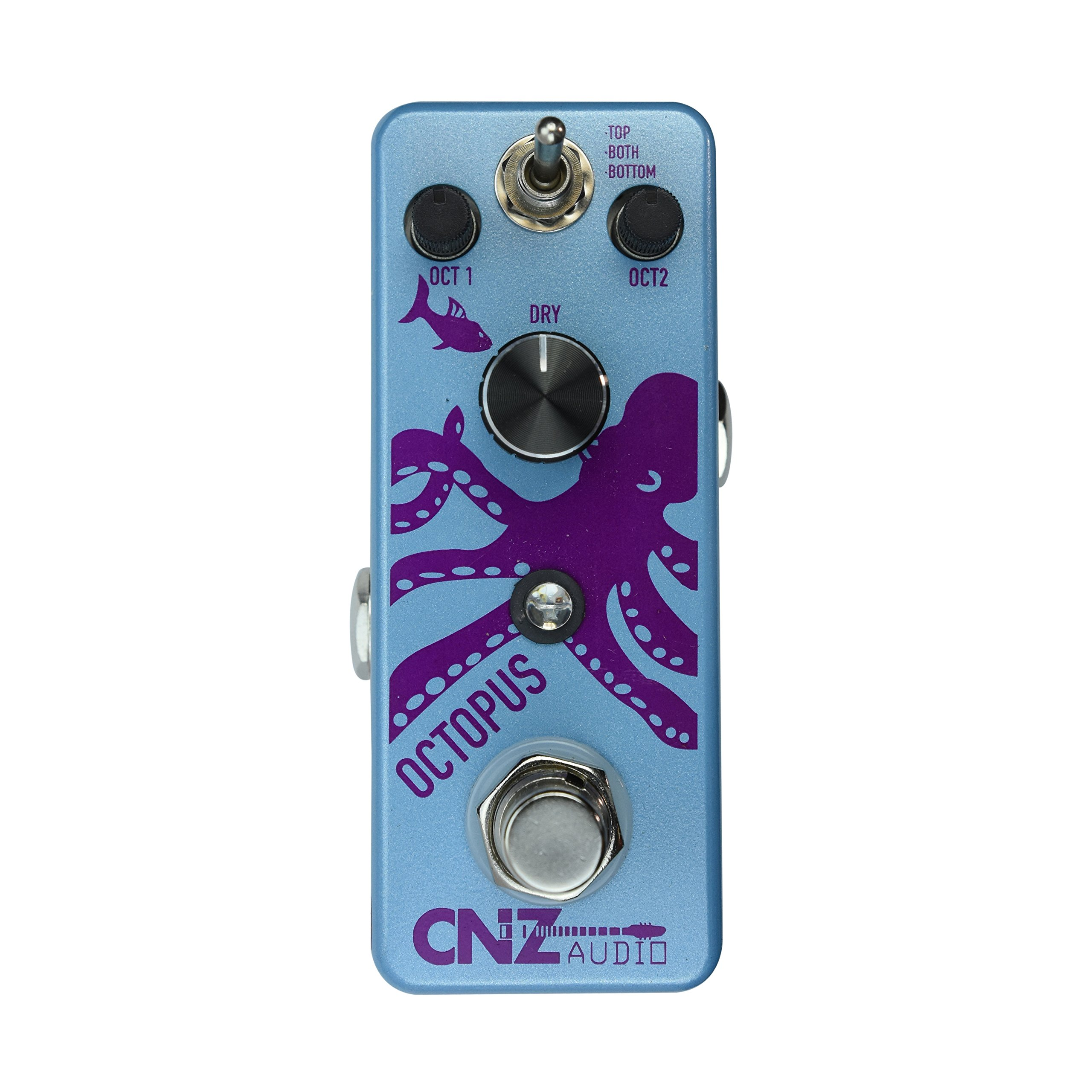 CNZ Audio Octopus - Octave Guitar Effects Pedal, True Bypass by CNZ Audio