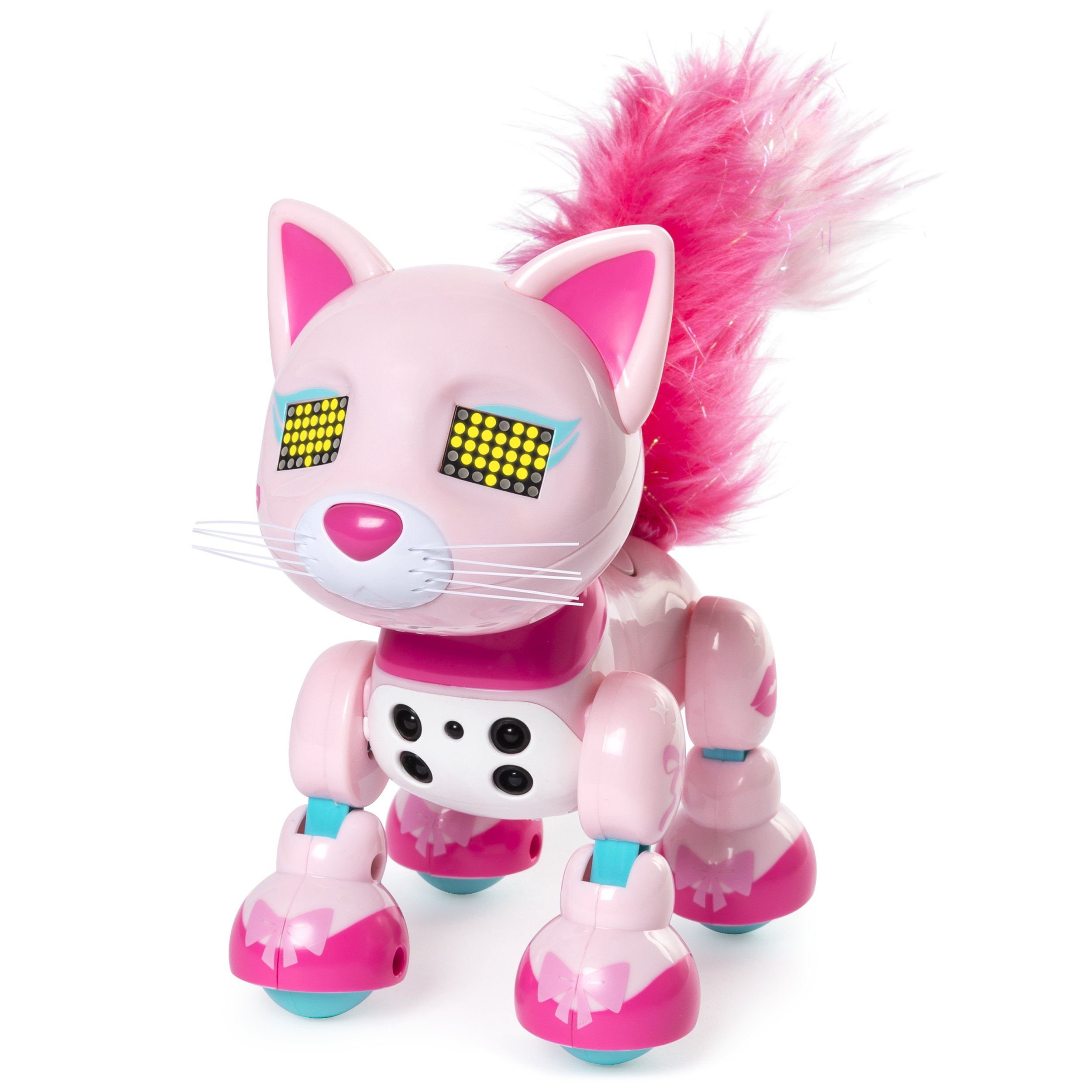 Zoomer Meowzies, Chic, Interactive Kitten with Lights, Sounds and Sensors by Zoomer (Image #3)