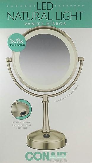 Amazon conair led natural light vanity mirror home kitchen conair led natural light vanity mirror aloadofball Gallery